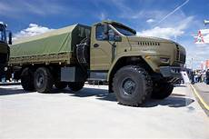 Ural Has Developed A New Russian Road 6 215 6 Truck