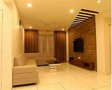 Contractors In Chennai Interior Wall Cladding Living Room
