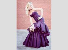 1000  images about Purple Wedding Dresses on Pinterest
