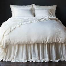 bedding joanna gaines bedroom notte linen whisper dust ruffle joanna gaines
