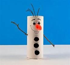Toilet Paper Roll Olaf The Snowman Allfreekidscrafts