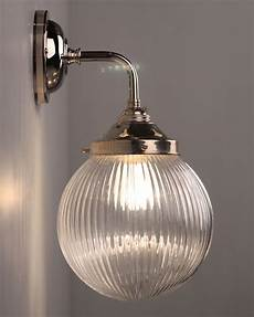 contemporary wall light with goodrich prismatic globe in 2019 contemporary wall lights wall