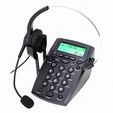 New Headset Telephone Desk Phone Headphones Headset