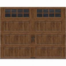 9 7 Garage Doors by Ideal Door 174 Designer Oak Insulated Garage Door With