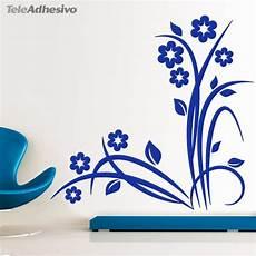 vinilo floral esquinas decoracion teleadhesivo vinilos decorativos florales