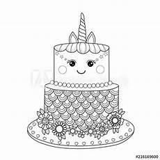 Malvorlagen Unicorn Cake Unicorn Cakes Unicorn Cake Coloring