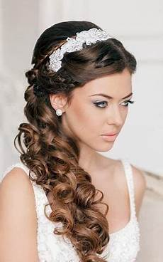 everthing girls side ponytail bridesmaid hairstyles