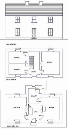 irish cottage house plans traditional irish farmhouse design and floor plan made of