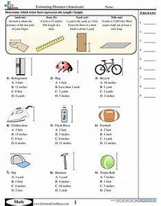 measurement worksheets year 6 1656 image result for measurement anchor chart 2nd grade inch foot centimeter yard school maths