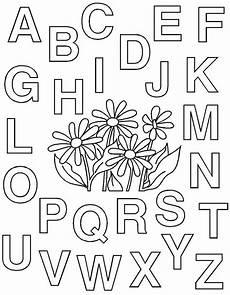 Malvorlagen Abc Alphabet Ausmalbilder Alphabet Kostenlos Malvorlagen Zum