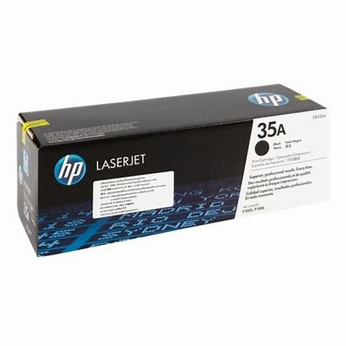 HP Toner CB435A Black 35A