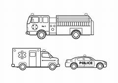 Emergency Vehicle Colouring Pagesvg  Wikimedia Commons