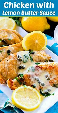 chicken with lemon butter sauce recipe spicy southern kitchen lemon butter sauce lemon