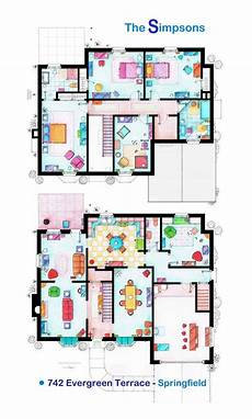 the simpsons house floor plan simpson s floor plan thesimpsons