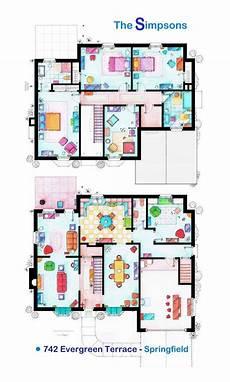 simpsons house floor plan simpson s floor plan thesimpsons