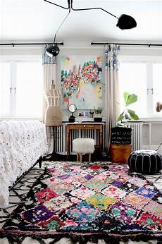 vintage artsy bedroom such a beautiful boho artsy bedroom that boucherouite rug