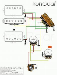 guitar wiring diagram hsh hsh wiring kytara