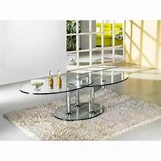 table design verre table basse carr 233 e ronde ou rectangulaire au meilleur