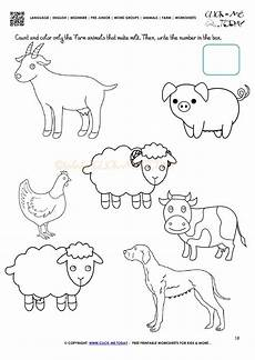 farm animals worksheets for preschool 14135 a discussion of composition especially as applied to architecture