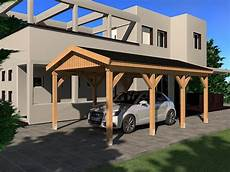 carport satteldach n 220 rburg i 350x600cm bausatz ebay