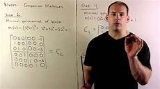 exle of rational canonical form 2 several blocks youtube