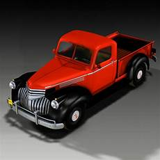 chevrolet up chevrolet up 1946 3d models ourias3d