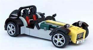 The Caterham Super Seven Gets A LEGO Version  Autoevolution