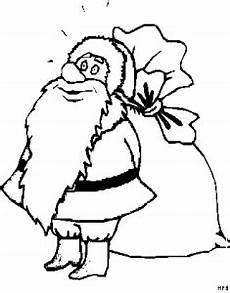 Malvorlagen Weihnachtsmann Gratis Weihnachtsmann Vor Seinem Sack Ausmalbild Malvorlage