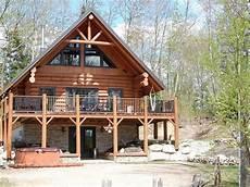 Au Chalet En Bois Rond Cabin Residential Log Cabins