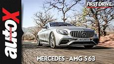 2019 mercedes amg s63 coupe review drive autox
