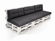 Paletti 3 Sitzer Sofa Aus Paletten Kiefer Weiss Lackiert