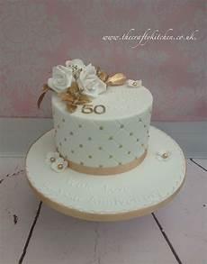 Cake Ideas For Wedding Anniversary golden wedding anniversary cake 60 wedding anniversary