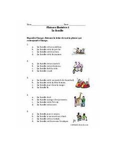 worksheets la famille 18941 phrases illustr 233 es 1 la famille worksheet for 6th 7th grade lesson planet