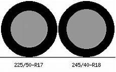 225 50 r17 vs 245 40 r18 tire comparison tire size