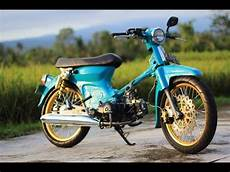 Honda C70 Modif by Motor Trend Modifikasi Modifikasi Motor Honda C70