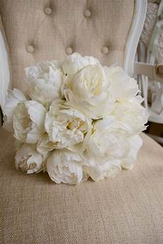luxury ivory peony wedding bouquet in 2019 bridal peony bouquet wedding white peonies