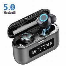Bluetooth Earphone Wireless Earbuds Display 1200mah by Urhomepro True Wireless Earbuds Bluetooth 5 0 Headphones