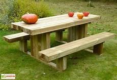 Table De Pique Nique En Bois Autoclave 180 Cm 90 Mm