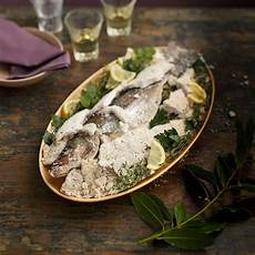 Whole Roasted Fish In A Salt Crust Recipe Eatingwell