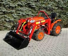 traktor mit frontlader kaufen kleintraktor allrad traktor kubota b1220 12 0ps neu