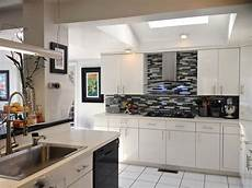 Kitchen Colors Black And White by Black And White Kitchen With Modern Cabinets And Glass