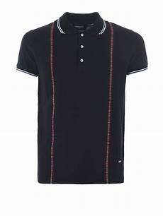 Suspender Polos dsquared2 printed check suspender polo polo shirts