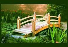 wooden garden bridges enhance your backyard youtube