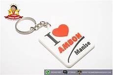 gantungan kunci i love ambon manise the ambon manise shop oleh oleh khas maluku