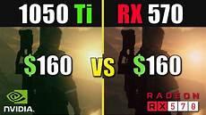 rx 570 test gtx 1050 ti vs rx 570 test in 2019