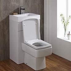toilette au lavabo lave wc cubique blanc