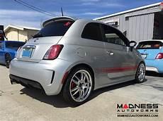 fiat 500 custom wheels competizione corsa 17x7 quot silver