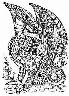 Ausmalbilder Drachen Erwachsene Drachen 63128 Drachen Malbuch Fur Erwachsene