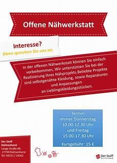Kursprogramm Der Stoff Filiale Delmenhorst