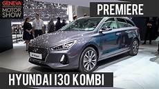 Hyundai I30 Kombi 2017 Premiere Genfer Autosalon